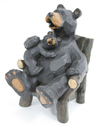 Buy Mom & Son Bear On Chair Figurine from Walking Pants Curiosities, the Most un-General Gift Store in Downtown Memphis, Tennessee!