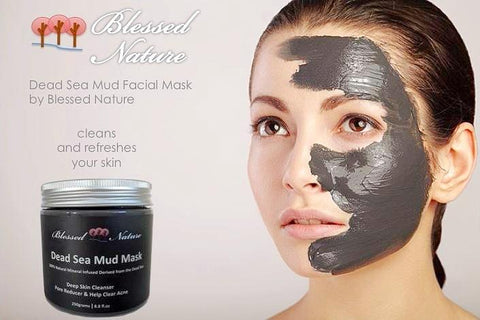 Dead Sea Mud Mask 250G 8.8 fl.oz. Deep Skin Cleanser
