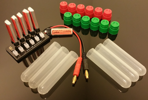 180Mah Power Pack (6 Batteries Plus a 12 Port Parallel Board)