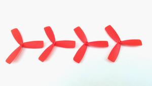 Micro FPVll 40mm Propellers (set of 4 red props)