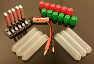 210mah Power Pack (6 Batteries Plus a 12 Port Parallel Board)