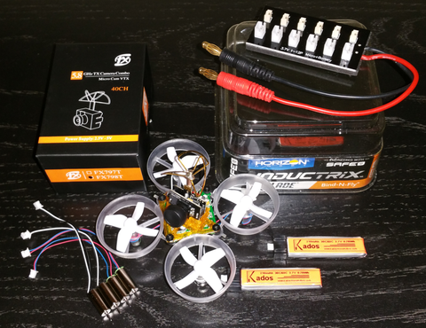 Inductrix Fpv Bind and Fly with Extras