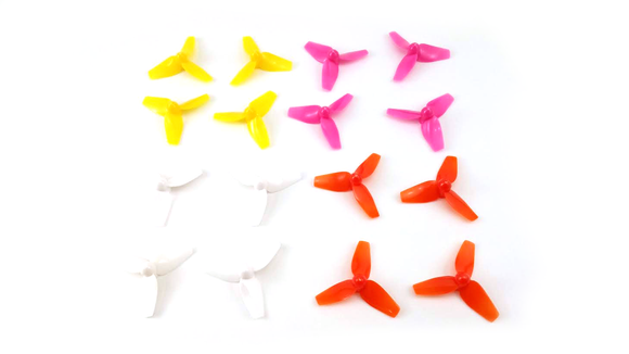Kingkong 40mm Tri-Blade 3 Blade Propellers for Mini FPV