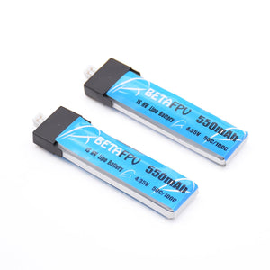 BetaFPV 550mAh 1S Lipo HV Battery (2PCS)