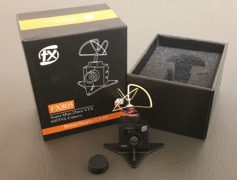 FX805 Camera with case/mount for Inductrix