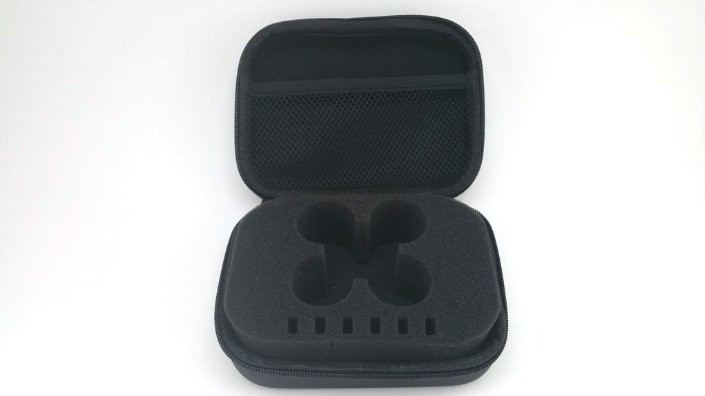 Inductrix FPV Dual Zipper Case With Foam Insert