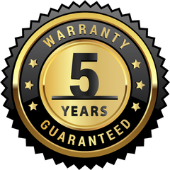 5 year frame warranty