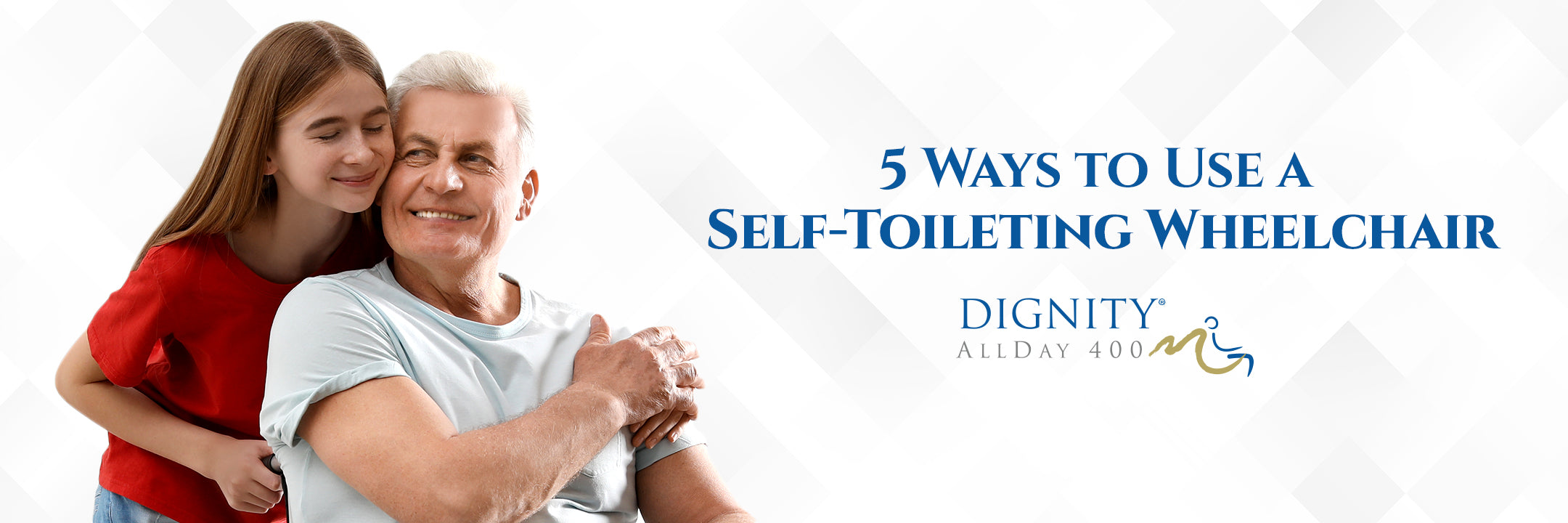 how to use a self-toileting wheelchair