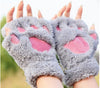 LOVELY CAT PLUSH PAW GLOVES - For FREE + Shipping - Mercazone