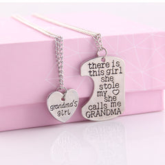 Beautiful Gift Grandma Necklace & Keychain
