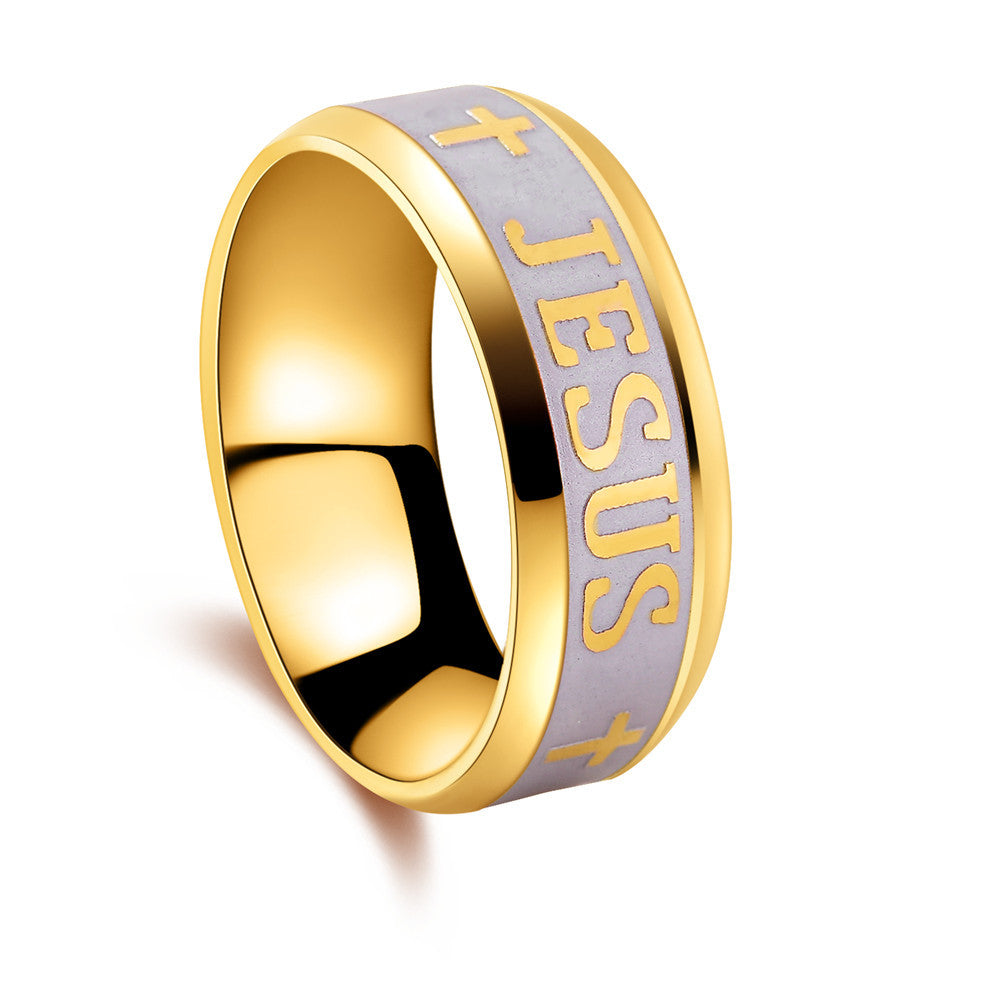 Awesome Jesus Ring - FREE Shipping