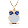 Crystal Owl Necklace - FREE Shipping
