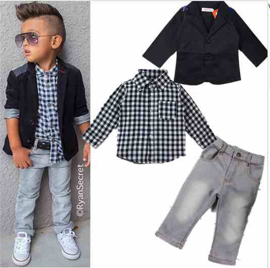 European Style Toddler Outfit