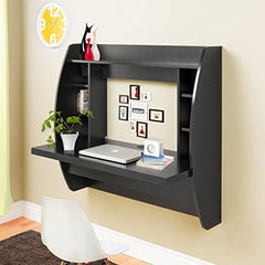 Homedex Wall Mounted Floating Desk with Storage