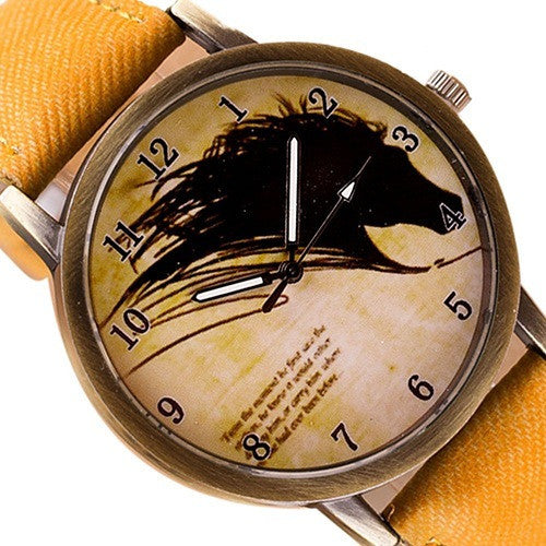 FREE Newly Vintage Horse Watch