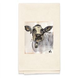 Personalized Natural Flour Sack Tea Towel