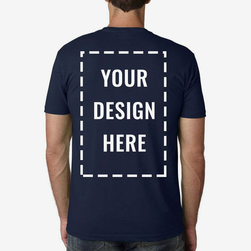 Custom Printed Next Level Premium Cotton Tee Shirt