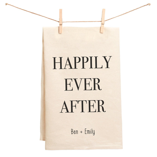 Happily Ever After Towel