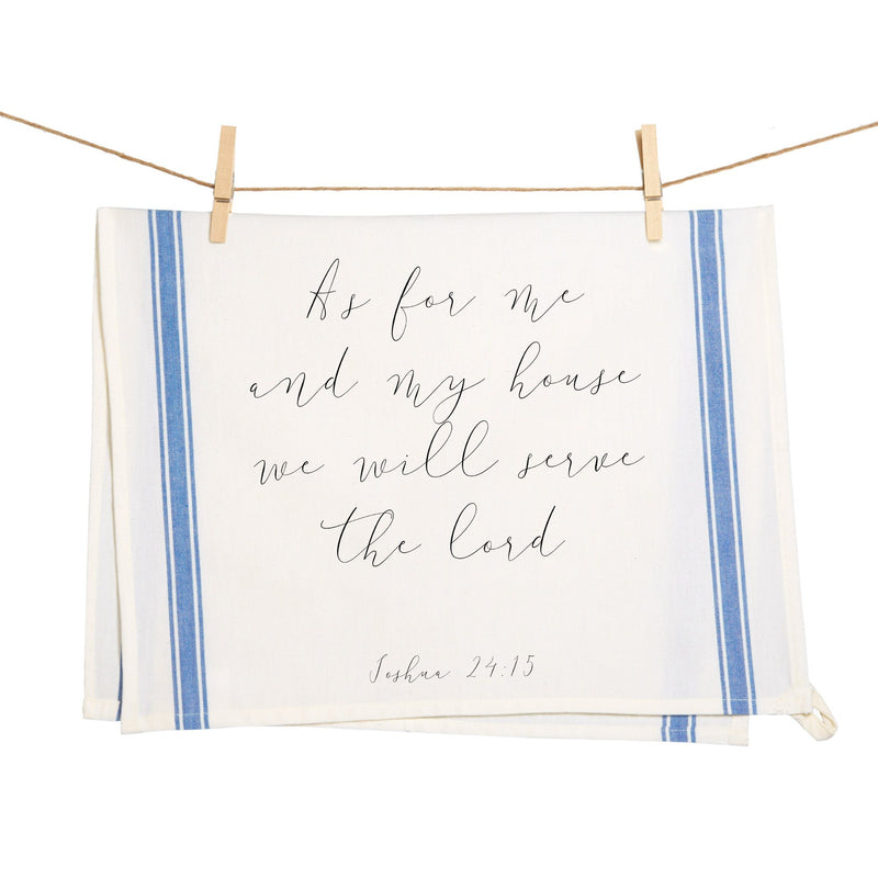Custom Scripture Towel