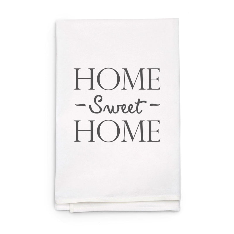 Personalized White Flour Sack Tea Towel