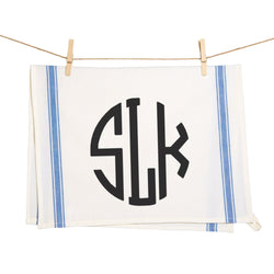 Custom Monogrammed Towel