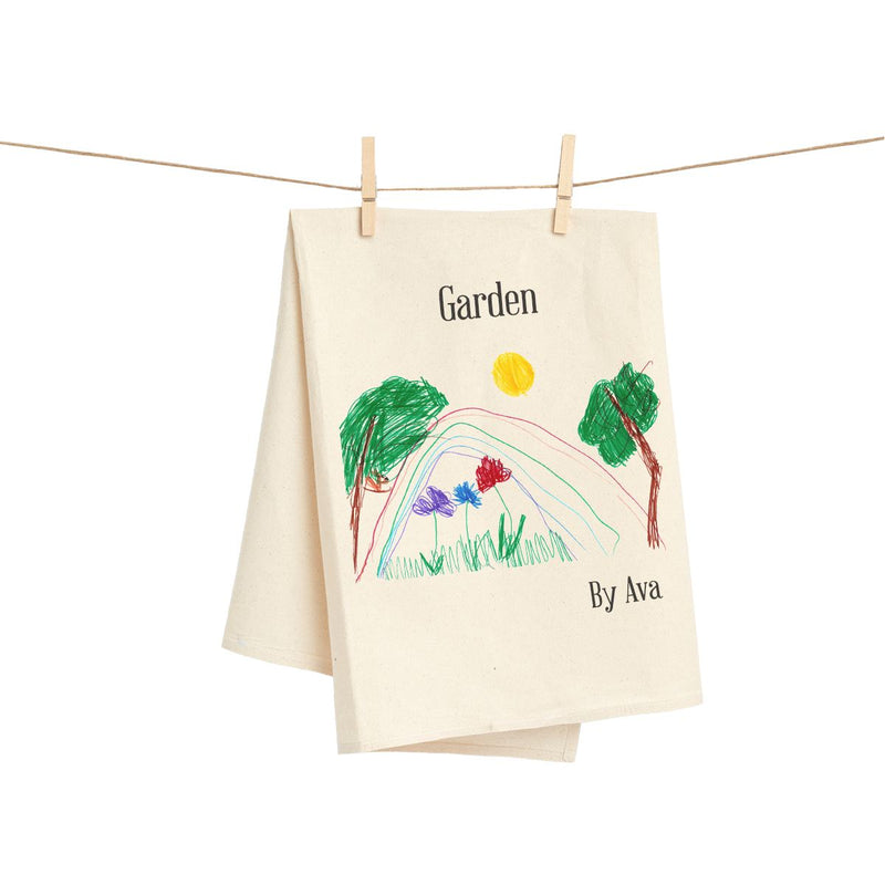 Customized Child Art Towel