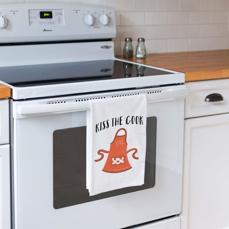 Kiss the Cook - Funny Kitchen Tea Towel