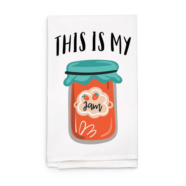 This is My Jam - Funny Kitchen Tea Towel