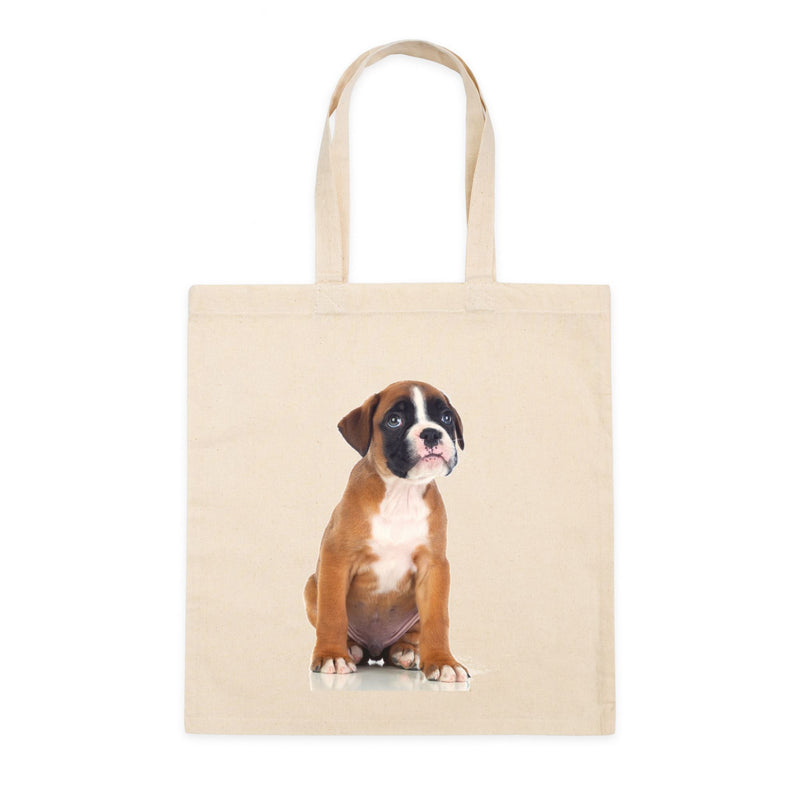 Personalized Square Canvas Tote Bag