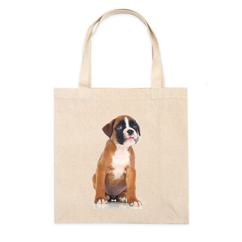 Personalized Simple Canvas Tote Bag