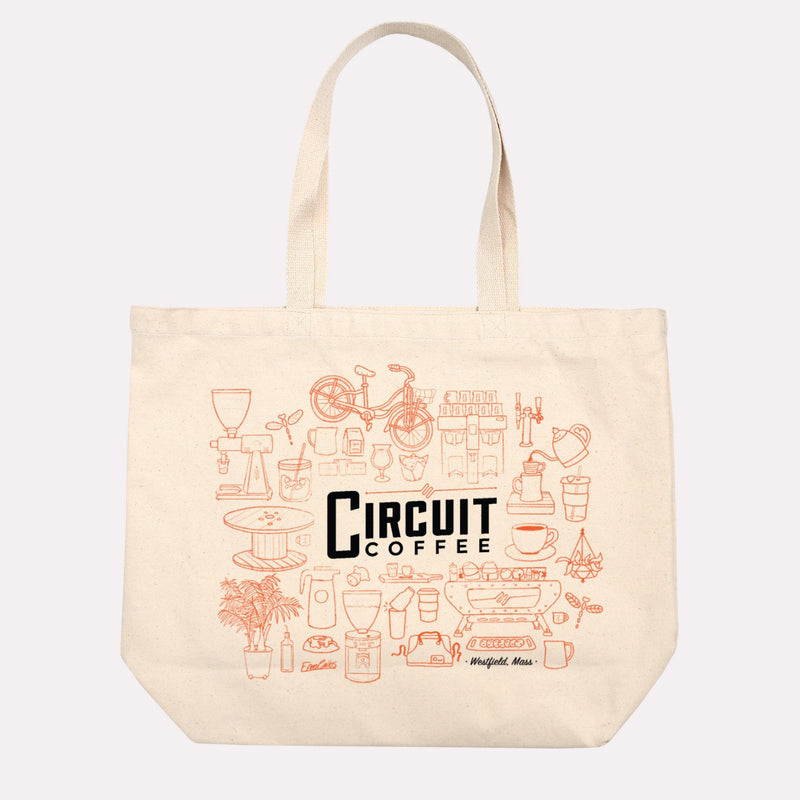 Personalized Jumbo Canvas Tote Bag