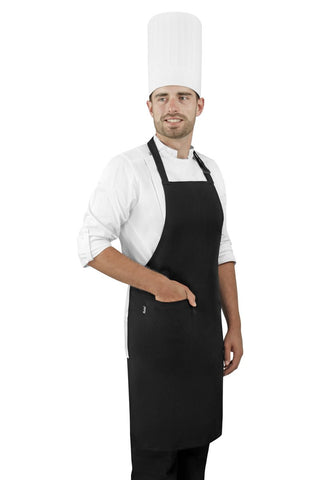 Black Texas Bib Apron