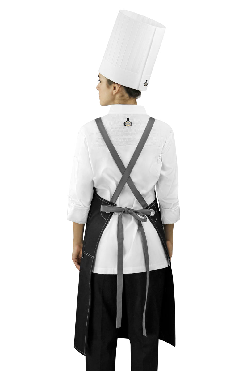 Black Texas Bib Apron - PermaChef USA