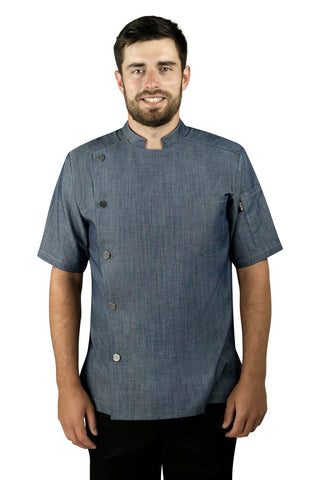 Caribe Men's Chef Coat - PermaChef USA