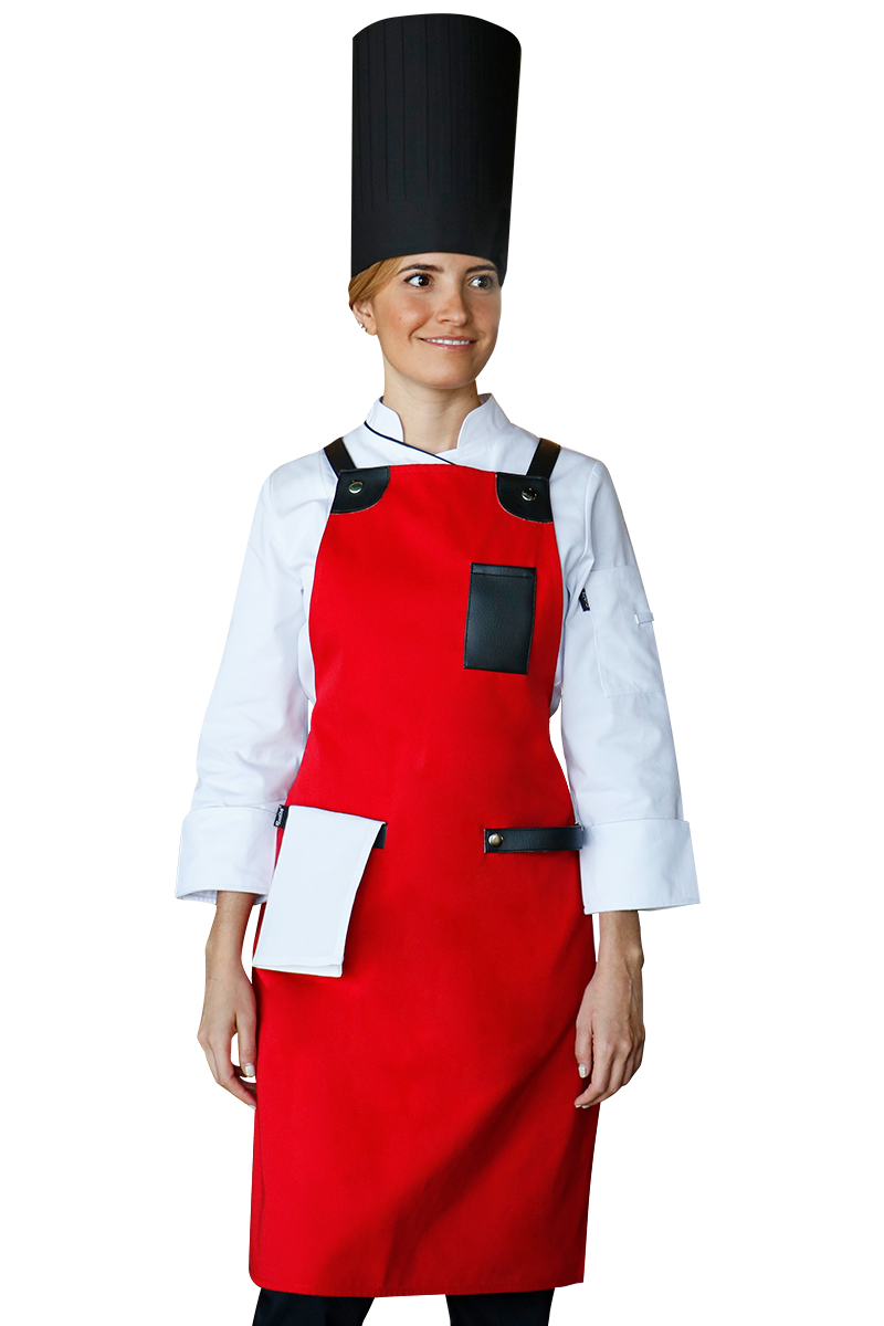 Chicago Bib Apron
