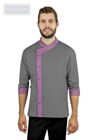 Colors Men's Chef Coat