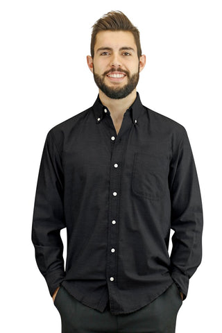 Men's Server Long Sleeve Dress Shirt