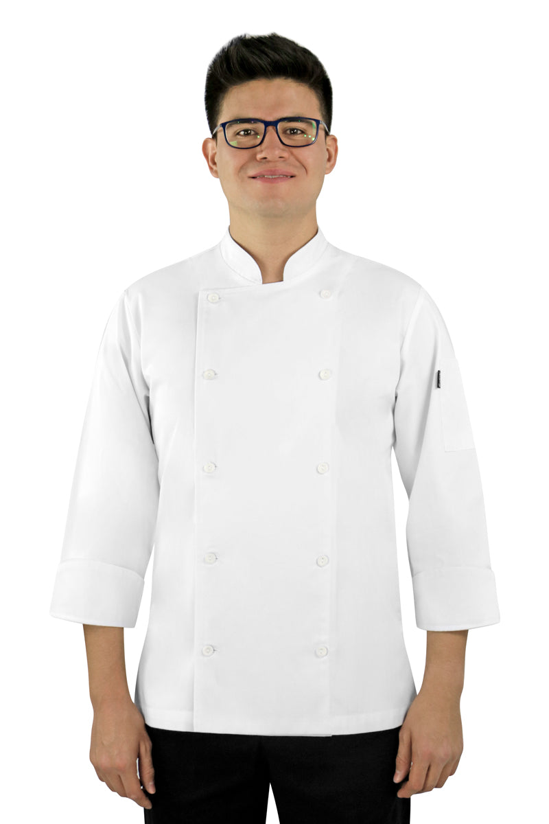 Dignus Men's Chef Coat - PermaChef USA