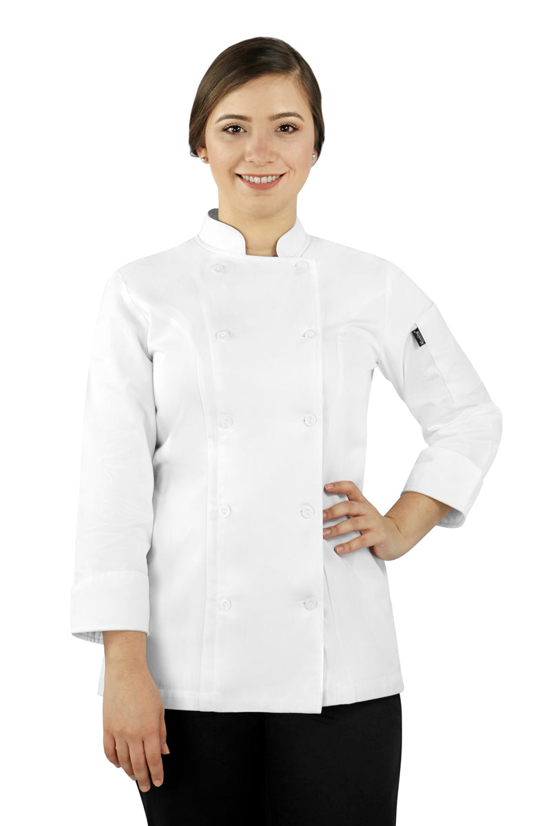 Dignus Women's Chef Coat - PermaChef USA