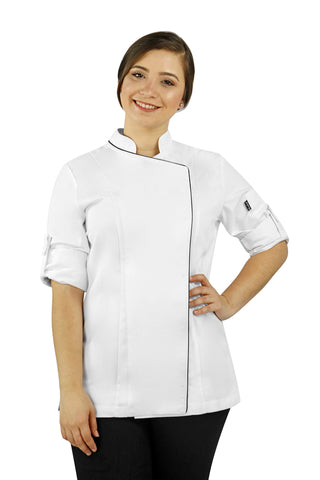 Dubai Black Women's Chef Coat