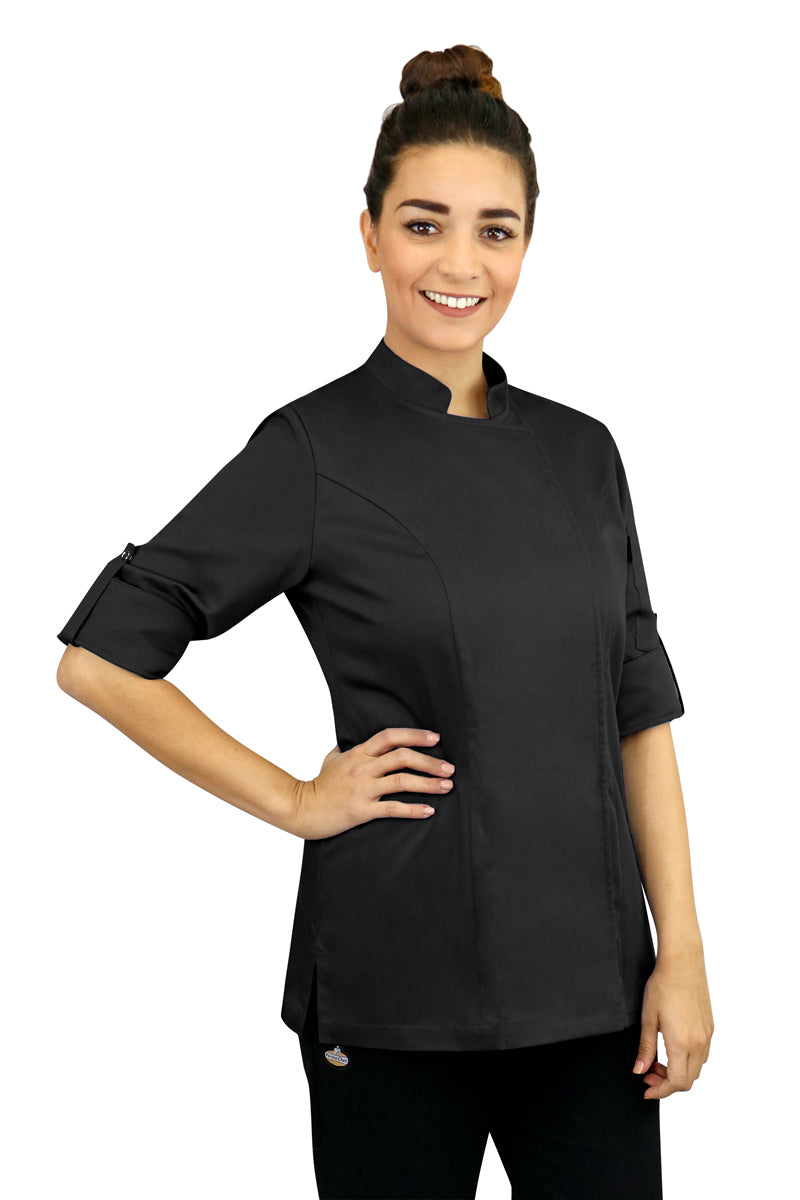 Women's Basic Chef Coat - PermaChef USA