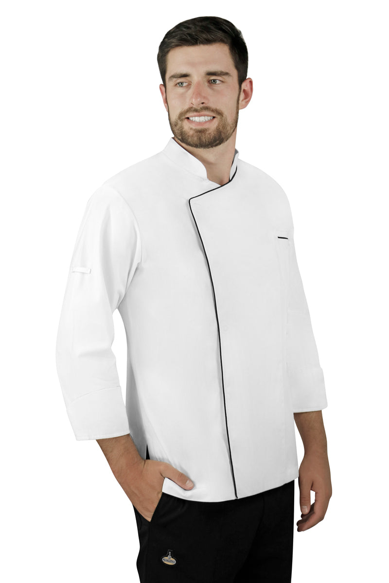 Ferran Men's Chef Coat - PermaChef USA