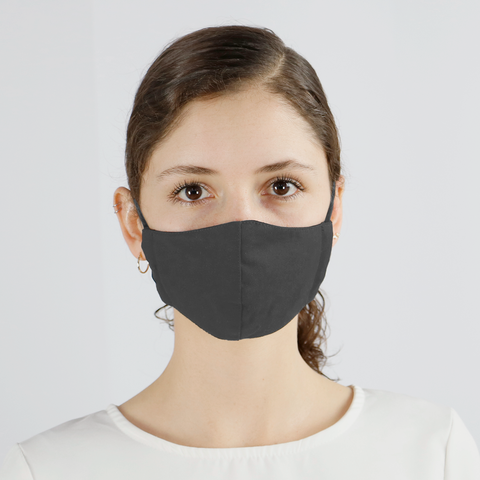 Gray Cloth Mouth Cover (5-Pack) - PermaChef USA