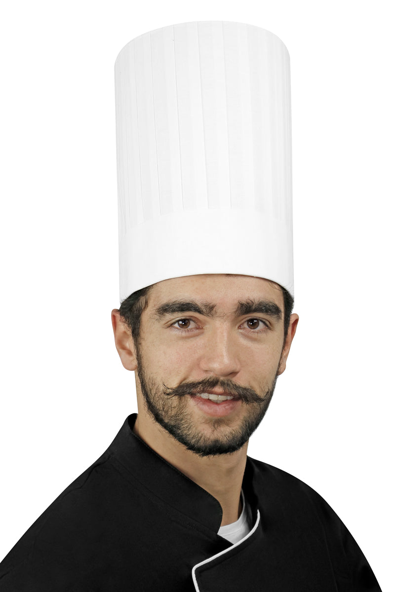 "Pleated Chef Hat 10"" Height"