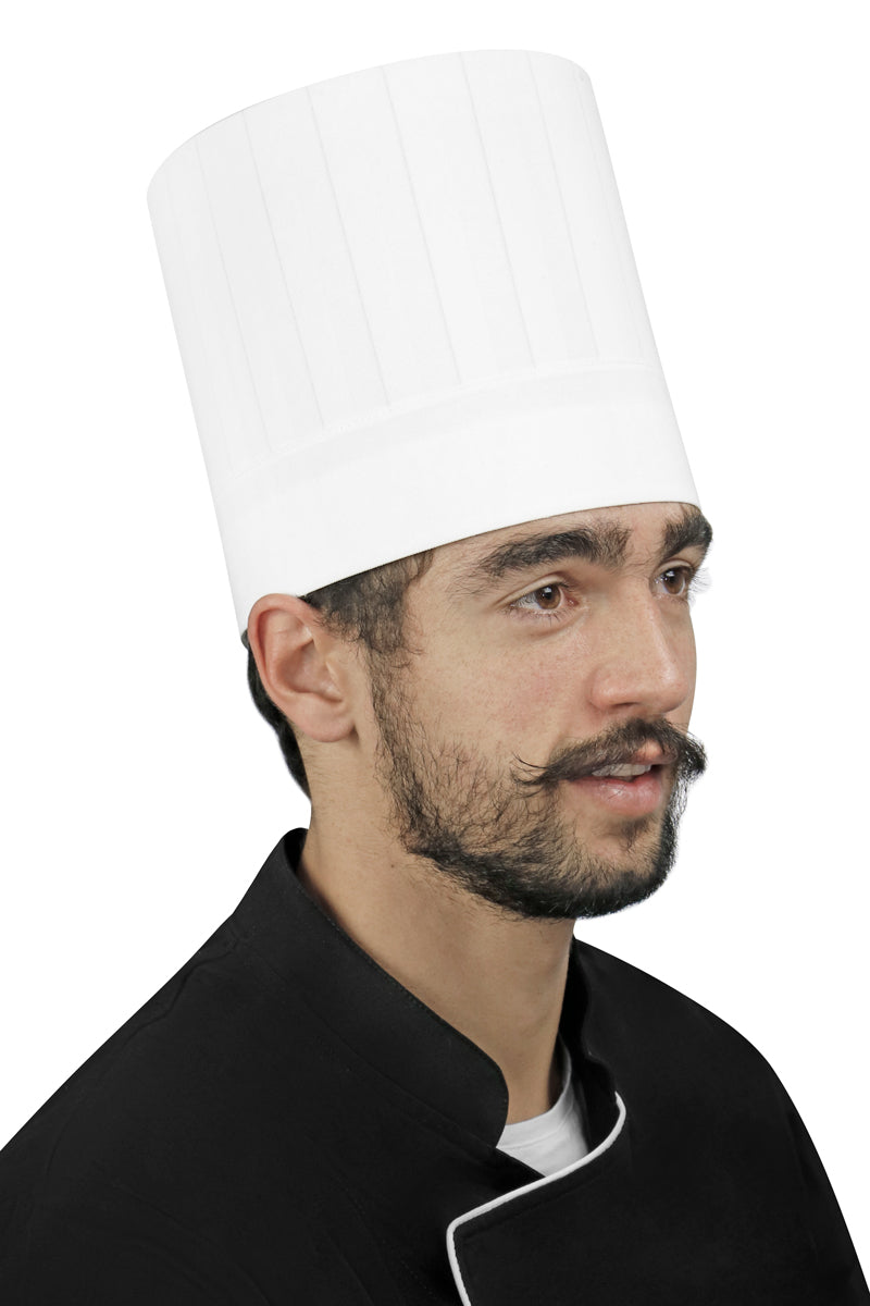 "Dignus E7 Chef Hat 7"" Height - PermaChef USA"