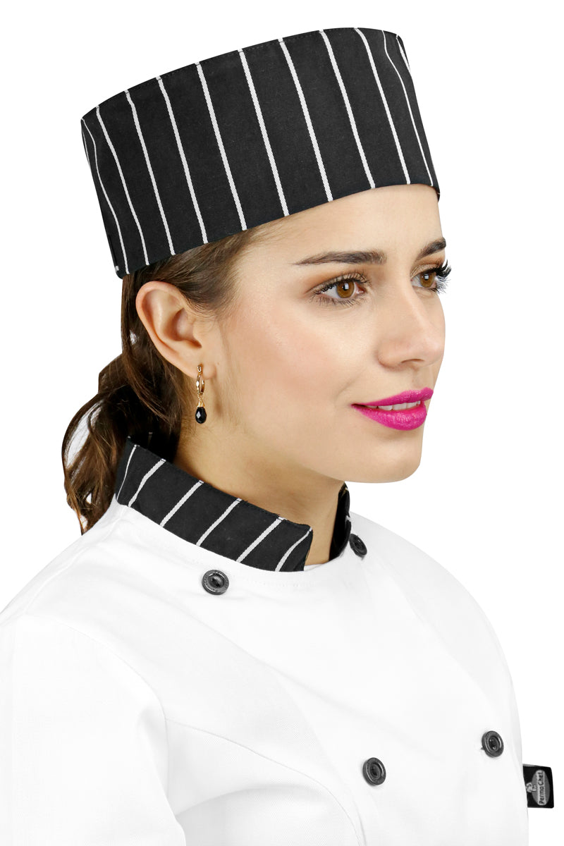 Printed Skull Chef Cap