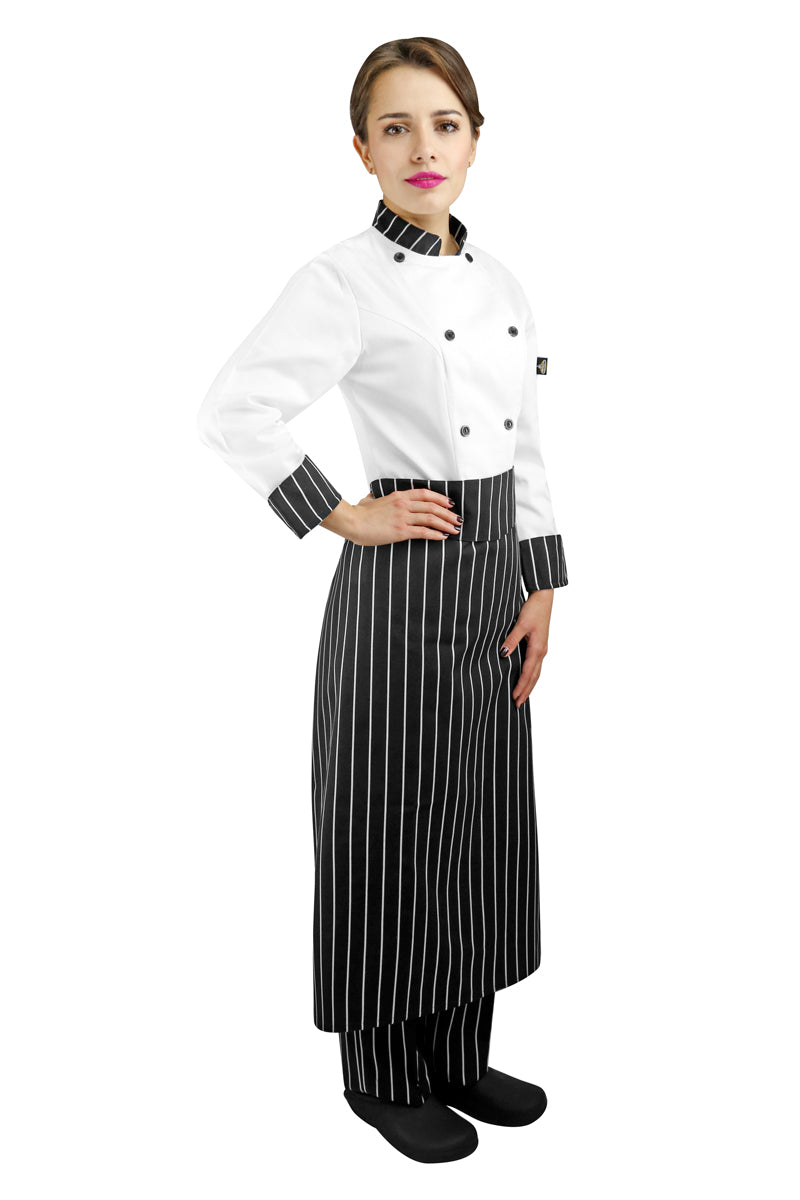 Printed Chef Apron with Waistband