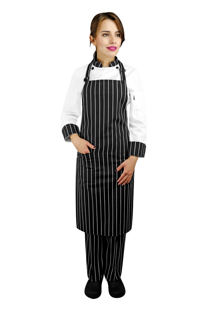 Printed Bib Chef Apron