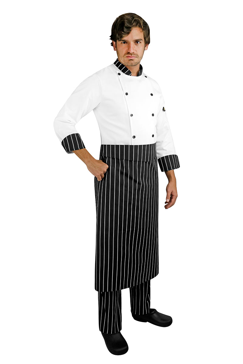 Printed Chef Apron with Waistband - PermaChef USA