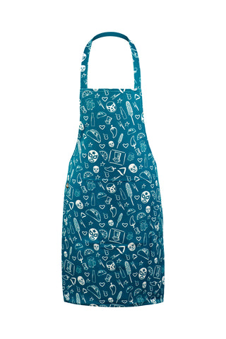 Printed Kitchen Apron
